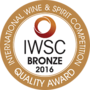 IWSC Bronze 2016