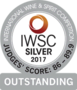 IWSC Silver Outstanding 2017