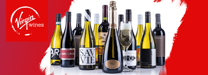 Virgin Wines Save over 50% Case