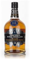 Teacher's Royal Highland 12 Year Old - 1980 B...