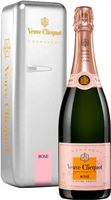 Veuve Clicquot Yellow Label Rose NV Silver Fr...