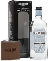 Death's Door Gin and Hip Flask Gift Set
