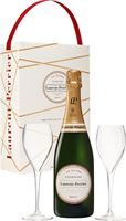 Laurent Perrier La Cuvee Brut NV Twin Gift