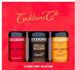 Cockburns Port Trio Gift Set
