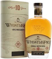 Whistle Pig 10 Year Old Rye Whiskey 70cl