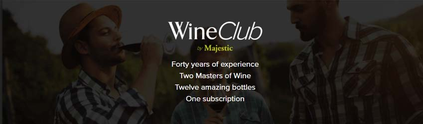 Shop the wine club by Majestic