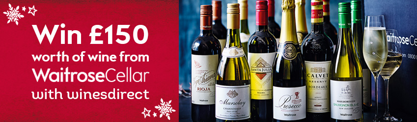 Waitrose Cellar Christmas Competition 2015