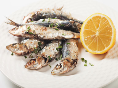 Grilled Sardines with Lemon and Herbs