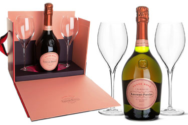 Laurent Perrier Rose Flutes
