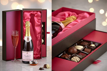 M&S Champagne & Belgian Chocolates