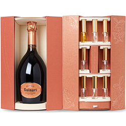 Ruinart Brut Rosé Interpretation gift set