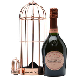 Laurent Perrier Rose Bird Cage