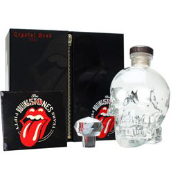 Crystal Head Vodka / Rolling Stones Edition